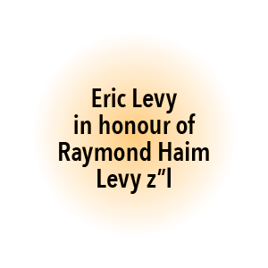 Eric Levy in honour of Raymond