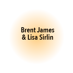 Brent James & Lisa Sirlin